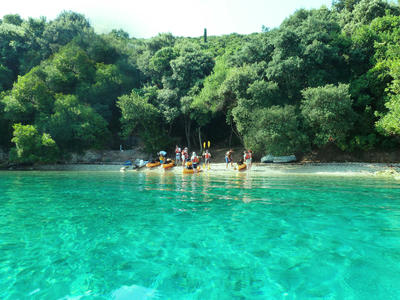 Sea Kayaking Excursion to Meganisi Island