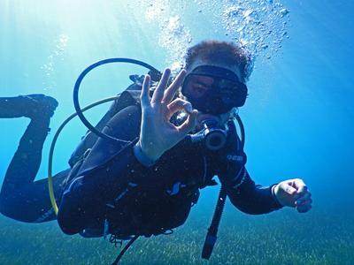 Discover Scuba Diving  from Caldera Beach in Santorini