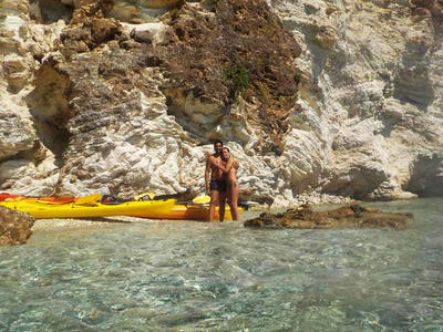 Sea Kayaking Excursion in Rouda Bay, Lefkada