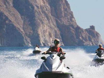 Jet Ski Safari Starting From Perivolos, Santorini