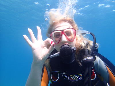 Try Scuba Diving in Cyclops Islands Marine Protected Area near Catania