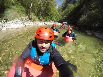 Canyoning at the Rakitnica Canyon, Bosnia and Herzegovina
