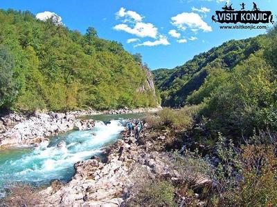 Rafting on the Neretva River, Bosnia and Herzegovina
