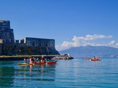 Sea Kayaking excursion to the sunken city of Epidaurus