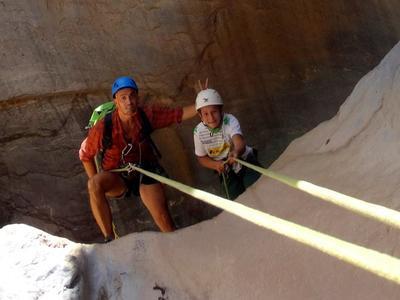 Rock Climbing Session in Agio Farago gorge, southern Crete