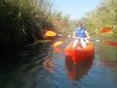 Kayaking in Chania, Crete