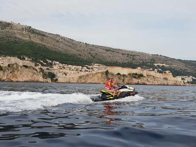 Jet ski excursion in Dubrovnik