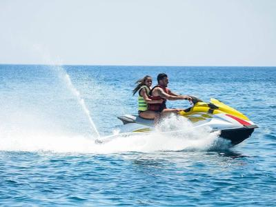 Jet Ski Rentals in Saint George Beach, Santorini