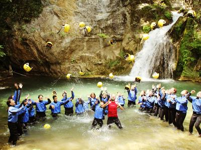 Canyoning in Pollino National Park
