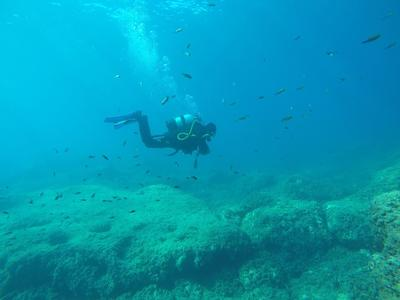 SSI Try Scuba Diving Course on the island of Corfu, Greece
