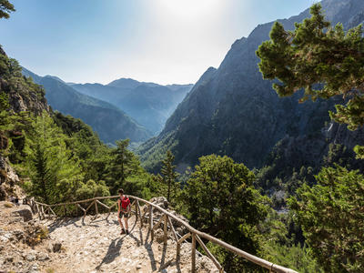 Hiking in Crete Island from Chania