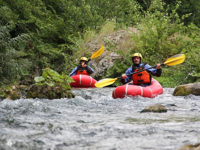 Packrafting on the Lao River in Pollino National Park