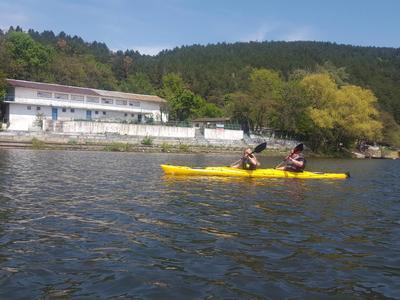 Kayaking in the Iskar Reservoir from Sofia