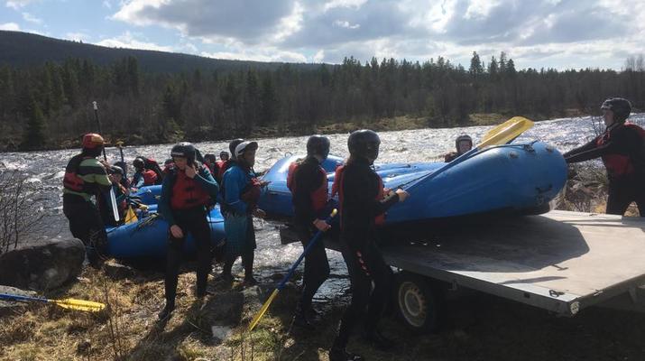 Rafting-Hardangervidda National Park-Rafting down the Numedalslågen in Dagali, Norway-14