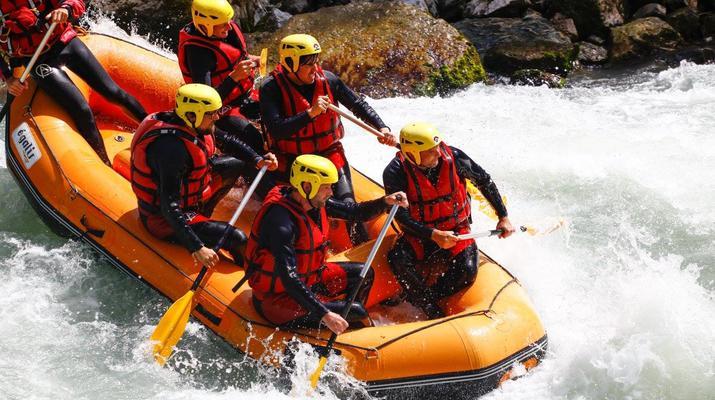 Rafting-Thonon les Bains-Descente en rafting de la Dranse à Thonon les Bains-1