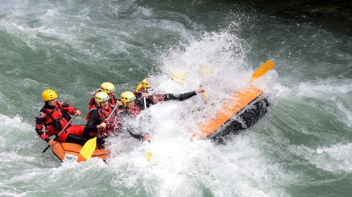 Rafting-Thonon les Bains-Descente en rafting de la Dranse à Thonon les Bains-5