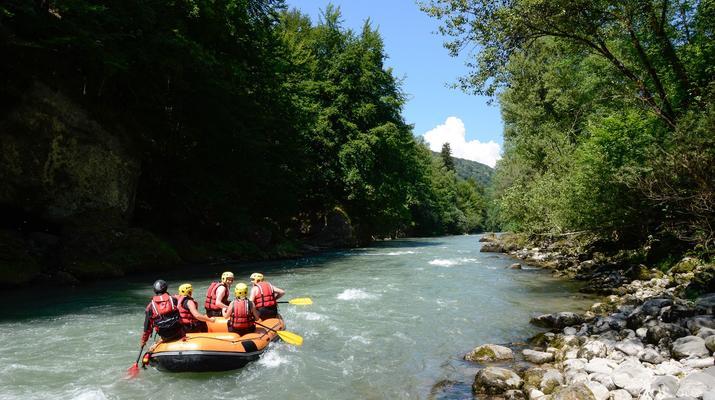 Rafting-Thonon les Bains-Descente en rafting de la Dranse à Thonon les Bains-3
