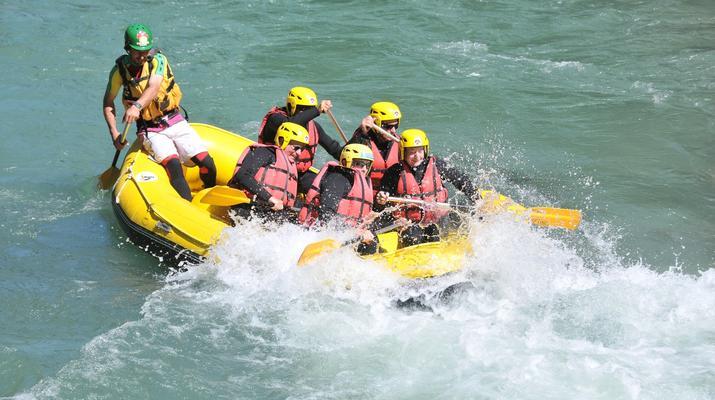Rafting-Thonon les Bains-Descente en rafting de la Dranse à Thonon les Bains-2