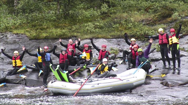 Rafting-Hardangervidda National Park-Rafting down the Numedalslågen in Dagali, Norway-4