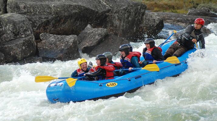 Rafting-Hardangervidda National Park-Rafting down the Numedalslågen in Dagali, Norway-3