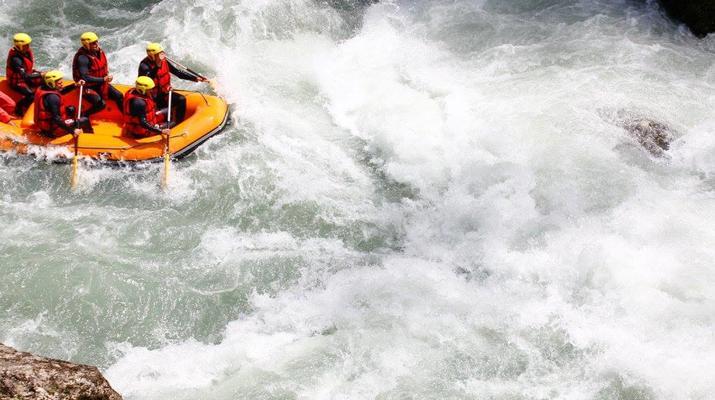 Rafting-Thonon les Bains-Descente en rafting de la Dranse à Thonon les Bains-6