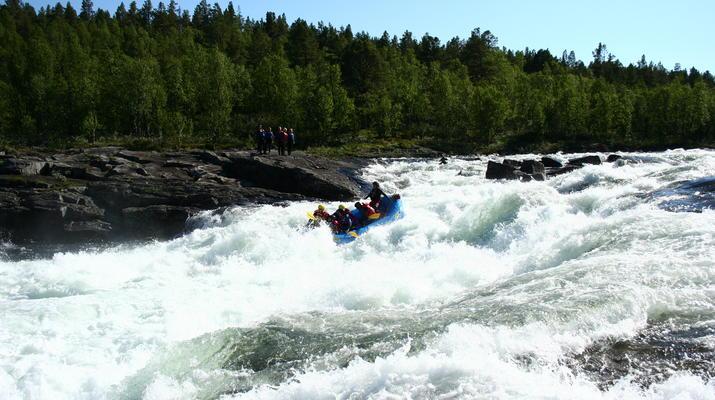 Rafting-Hardangervidda National Park-Rafting down the Numedalslågen in Dagali, Norway-1