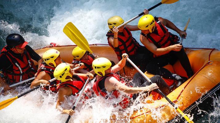 Rafting-Thonon les Bains-Descente en rafting de la Dranse à Thonon les Bains-4