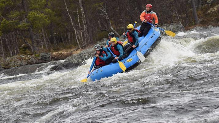 Rafting-Hardangervidda National Park-Rafting down the Numedalslågen in Dagali, Norway-6