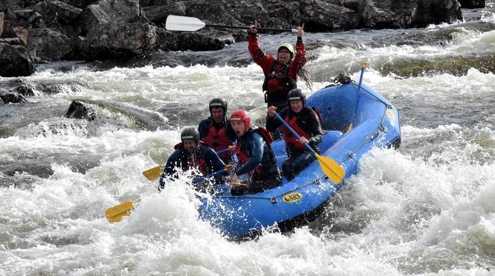 Rafting-Hardangervidda National Park-Rafting down the Numedalslågen in Dagali, Norway-7
