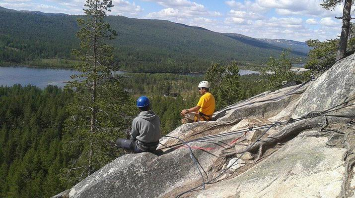 Abseiling-Hardangervidda National Park-Abseiling excursion in Dagali, Norway-7